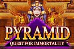 logo pyramid quest for immortality netent spillemaskine