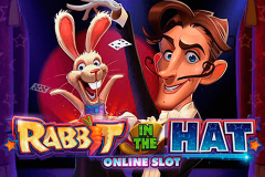 logo rabbit in the hat microgaming spillemaskine