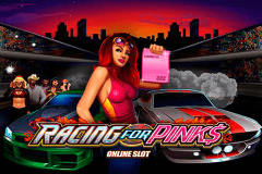 logo racing for pinks microgaming spillemaskine