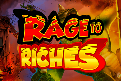 logo rage to riches playn go spillemaskine