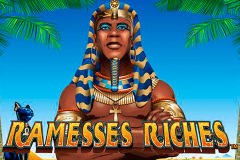 logo ramesses riches nextgen gaming spillemaskine