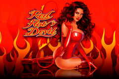 logo red hot devil microgaming spillemaskine