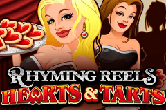 logo rhyming reels hearts and tarts microgaming spillemaskine