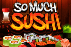 logo so much sushi microgaming spillemaskine
