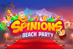 logo spinions beach party quickspin spillemaskine