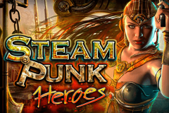 logo steam punk heroes microgaming spillemaskine