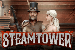 logo steam tower netent spillemaskine