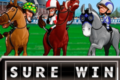 logo sure win microgaming spillemaskine
