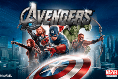 logo the avengers playtech spillemaskine