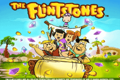 logo the flintstones playtech spillemaskine