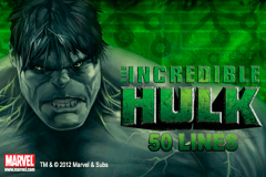 logo the incredible hulk 50 lines playtech spillemaskine