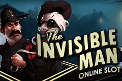 logo the invisible man netent spillemaskine