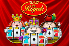 logo the royals novomatic spillemaskine