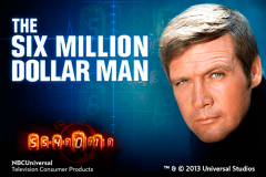 logo the six million dollar man playtech spillemaskine
