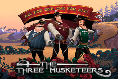 logo the three musketeers playtech spillemaskine