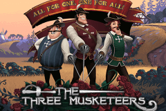 logo the three musketeers quickspin spillemaskine