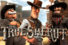logo the true sheriff betsoft spillemaskine