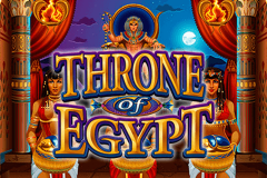 logo throne of egypt microgaming spillemaskine