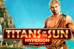 logo titans of the sun hyperion microgaming spillemaskine