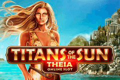 logo titans of the sun theia microgaming spillemaskine