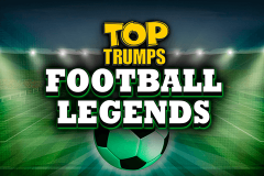 logo top trumps football legends playtech spillemaskine