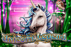 logo unicorn legend nextgen gaming spillemaskine