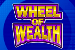 logo wheel of wealth microgaming spillemaskine