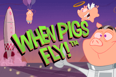 logo when pigs fly netent spillemaskine
