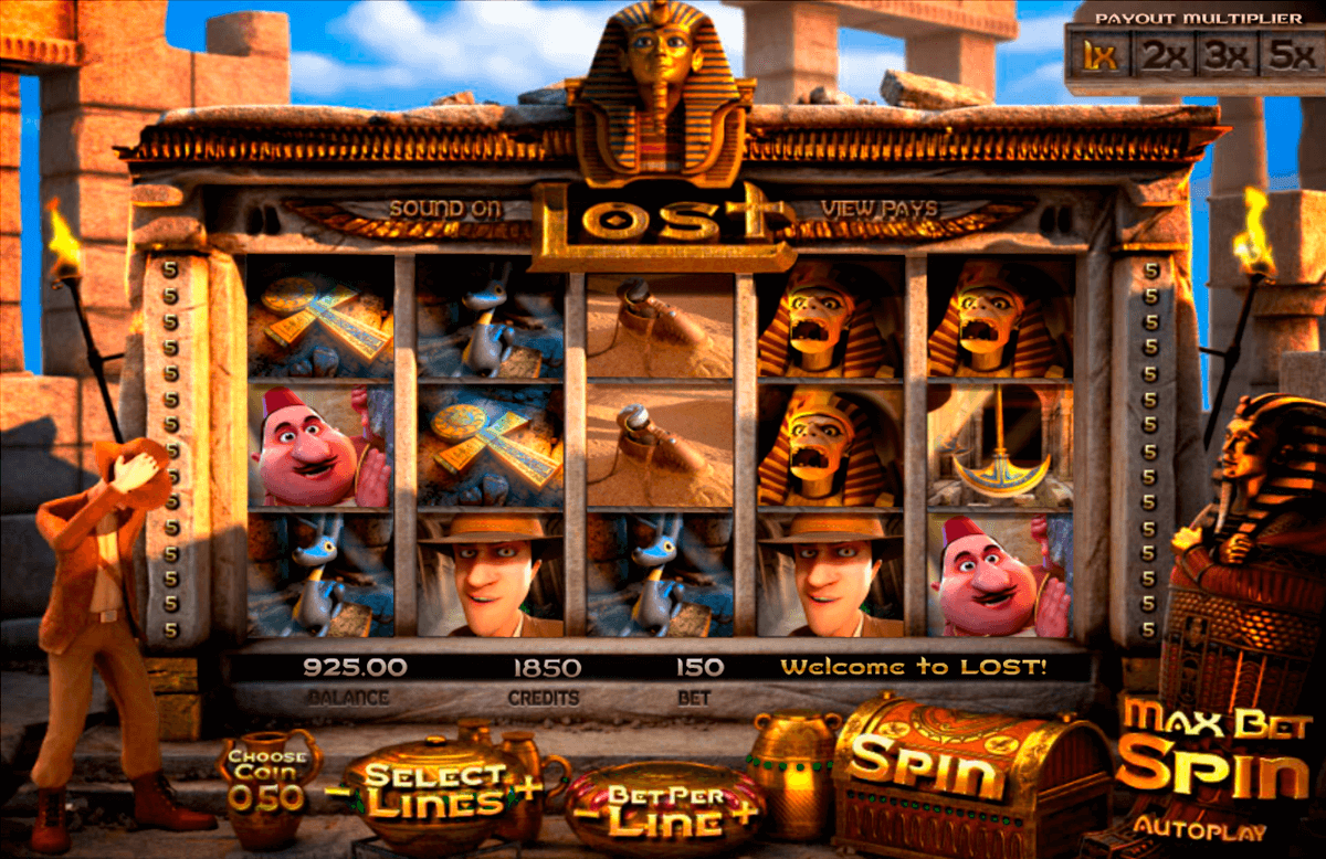 lost betsoft casinospil online