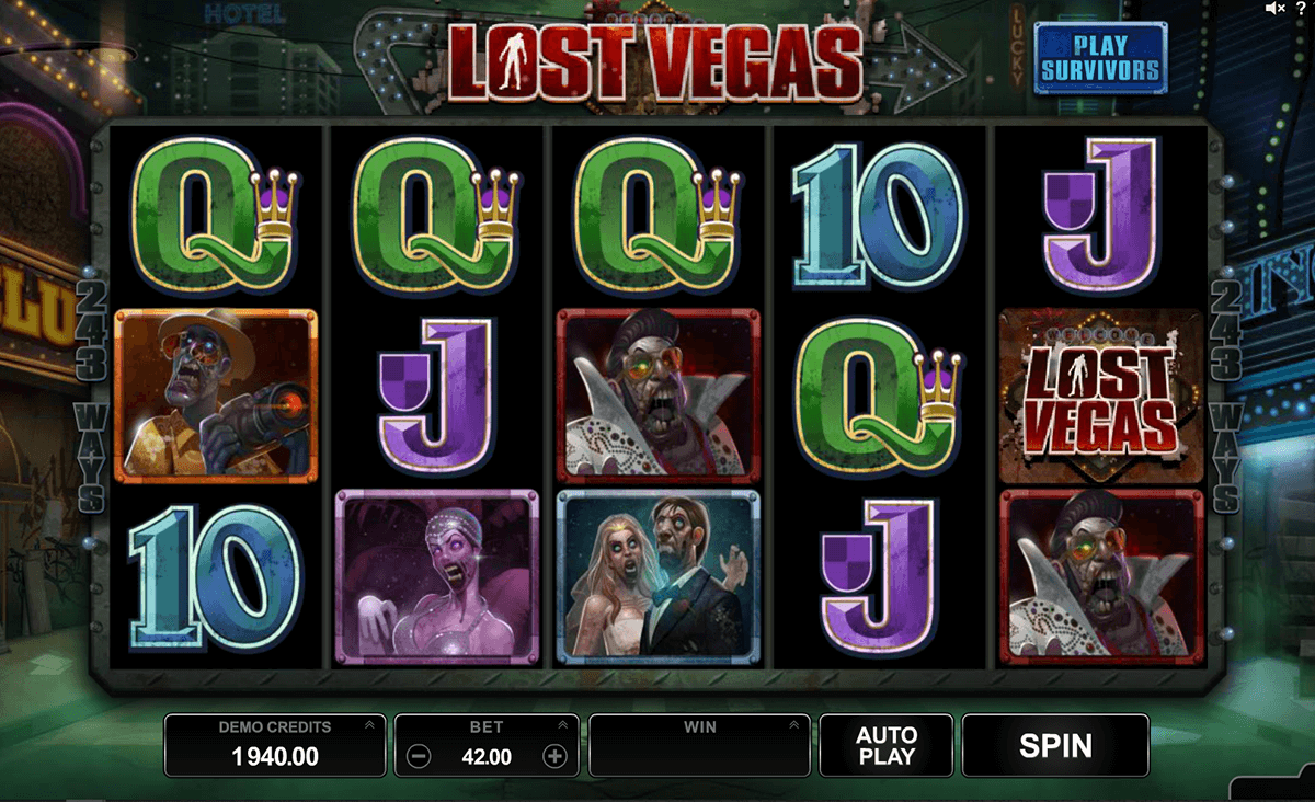 lost vegas microgaming casinospil online
