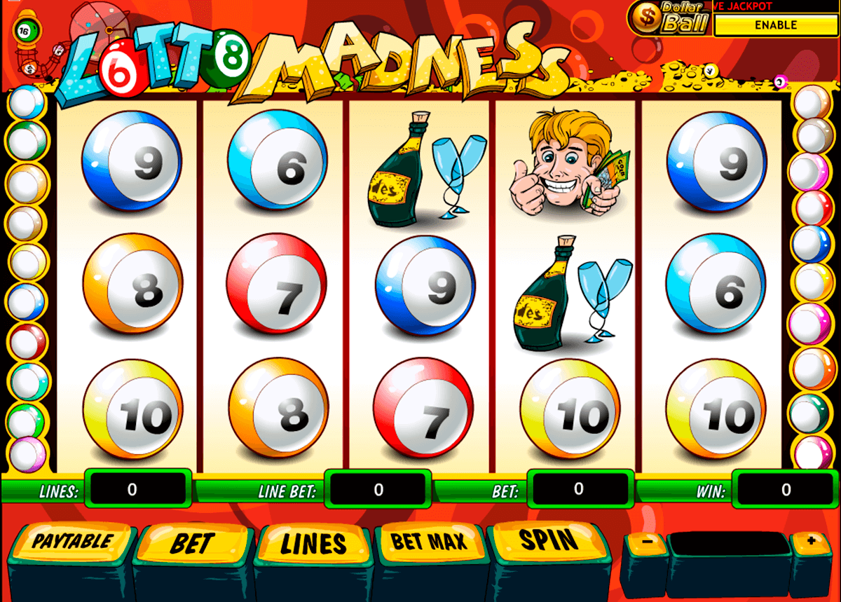 lotto madness playtech casinospil online