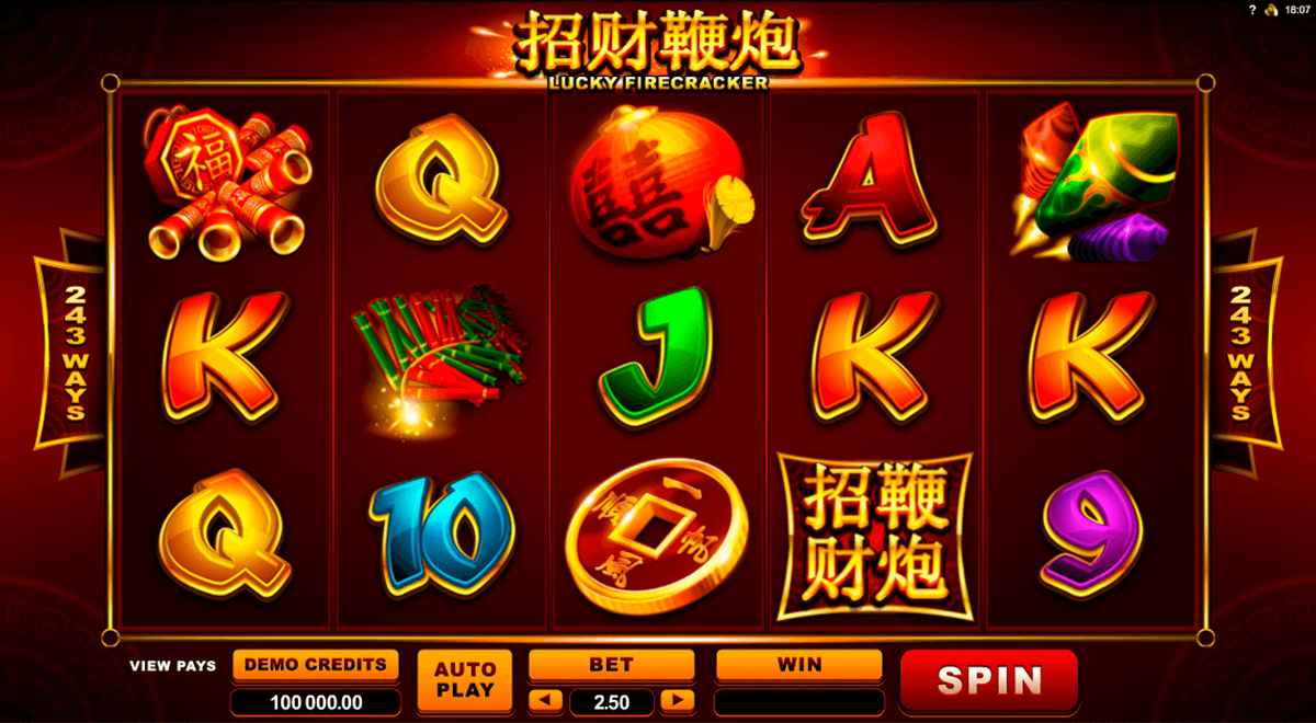 lucky firecracker microgaming casinospil online