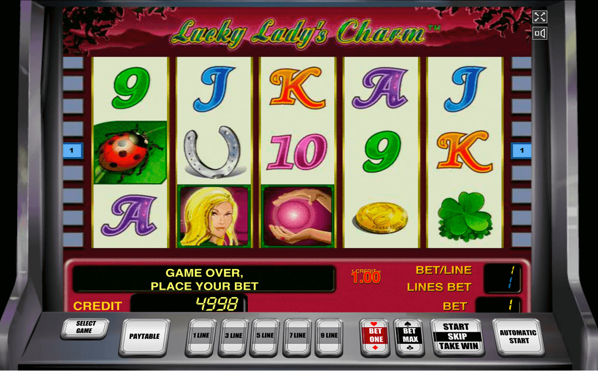 lucky ladys charm novomatic casinospil online
