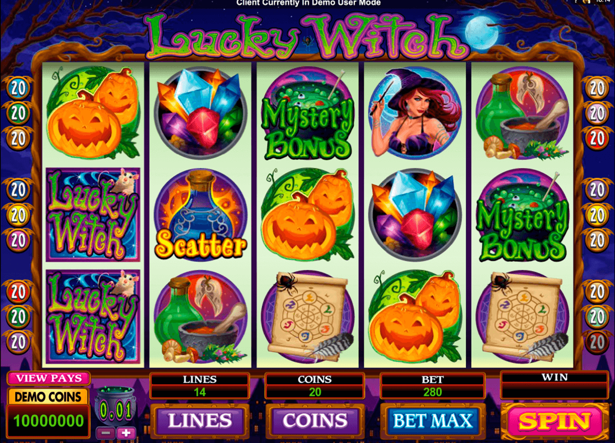 lucky witch microgaming casinospil online