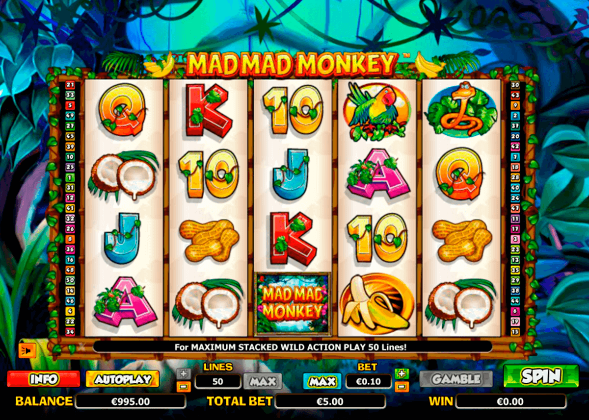 mad mad monkey nextgen gaming casinospil online