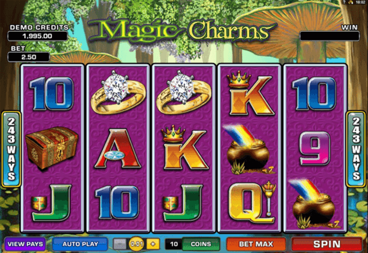 magic charms microgaming casinospil online