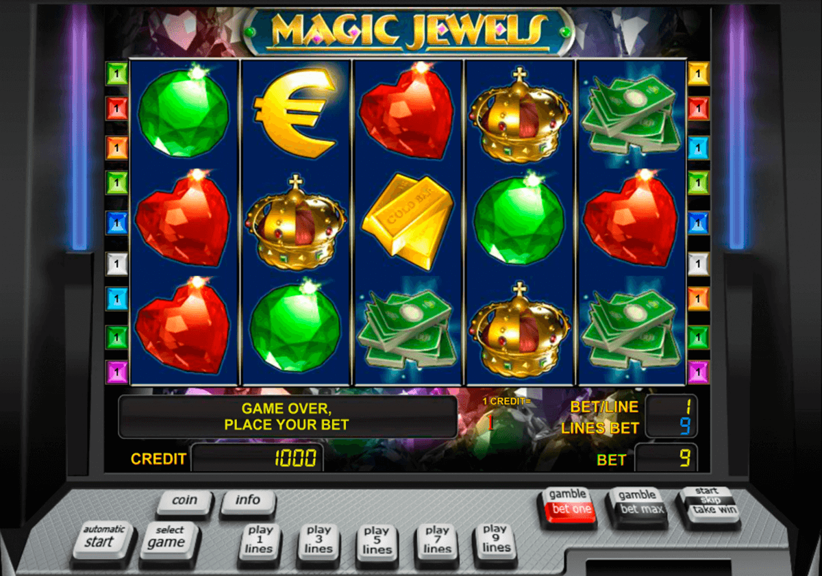 magic jewels novomatic casinospil online
