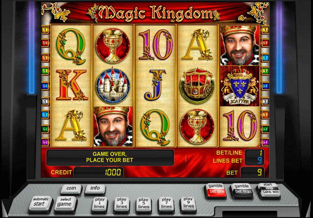 magic kingdom novomatic casinospil online
