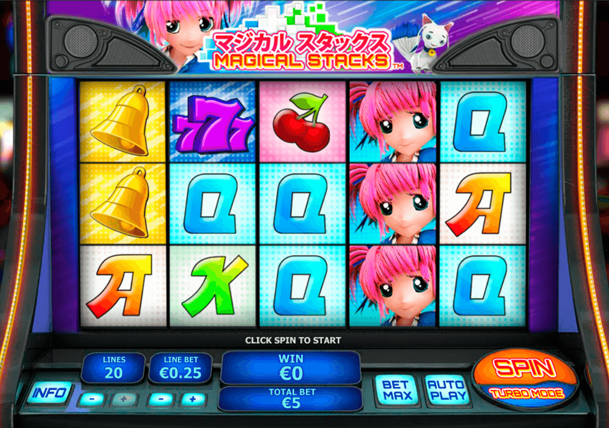 magical stacks playtech casinospil online