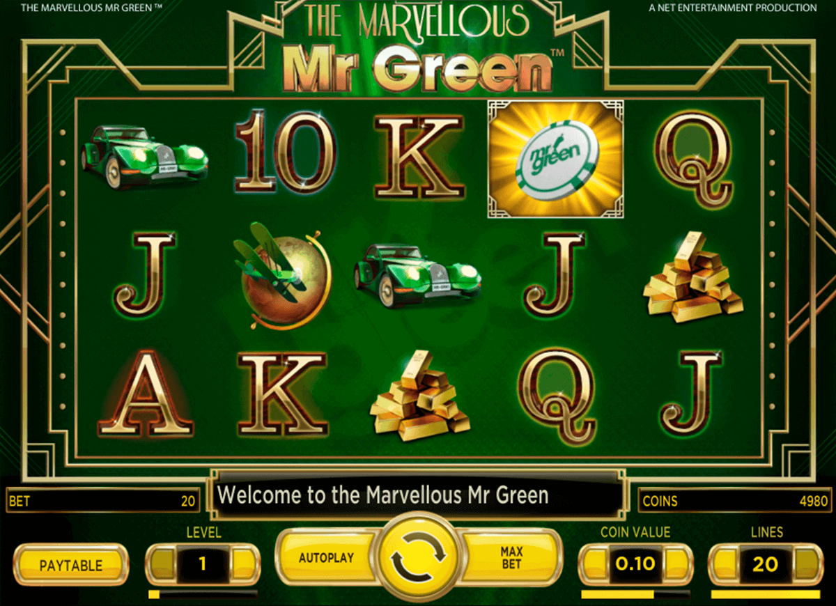 marvellous mr green netent casinospil online