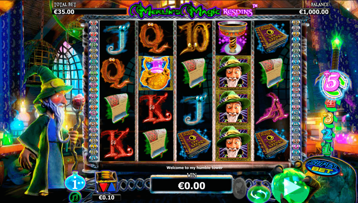merlins magic respins nextgen gaming casinospil online