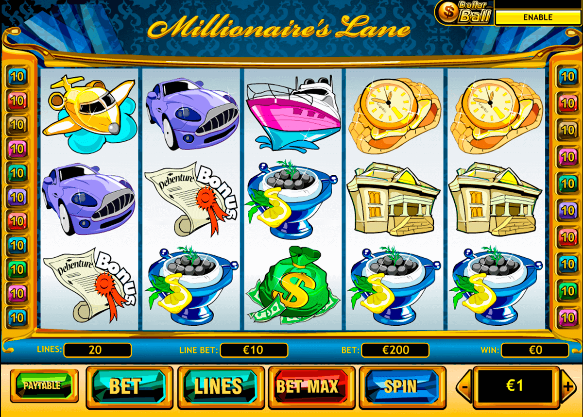 millionaires lane playtech casinospil online