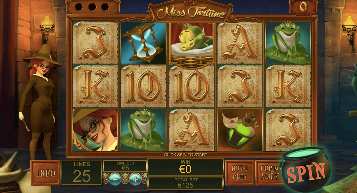 miss fortune playtech casinospil online