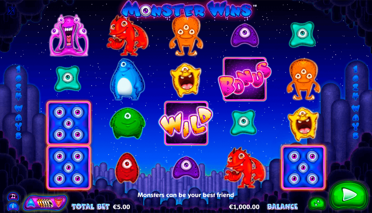 monster wins nextgen gaming casinospil online