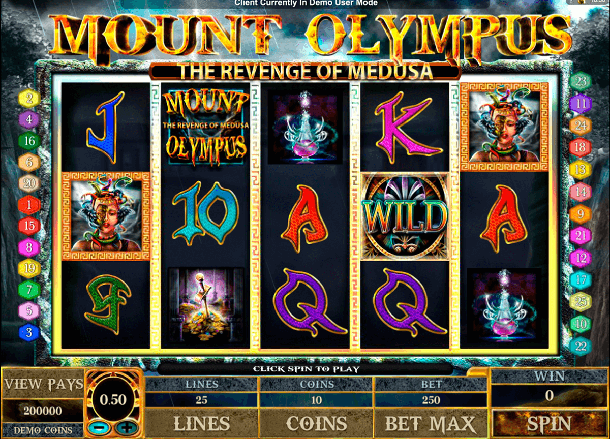 mount olympus microgaming casinospil online