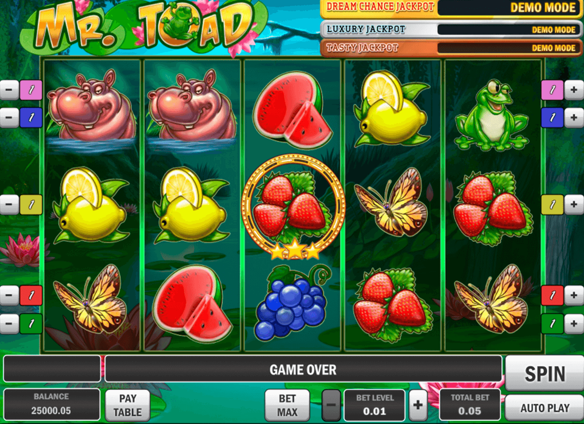 mr toad playn go casinospil online