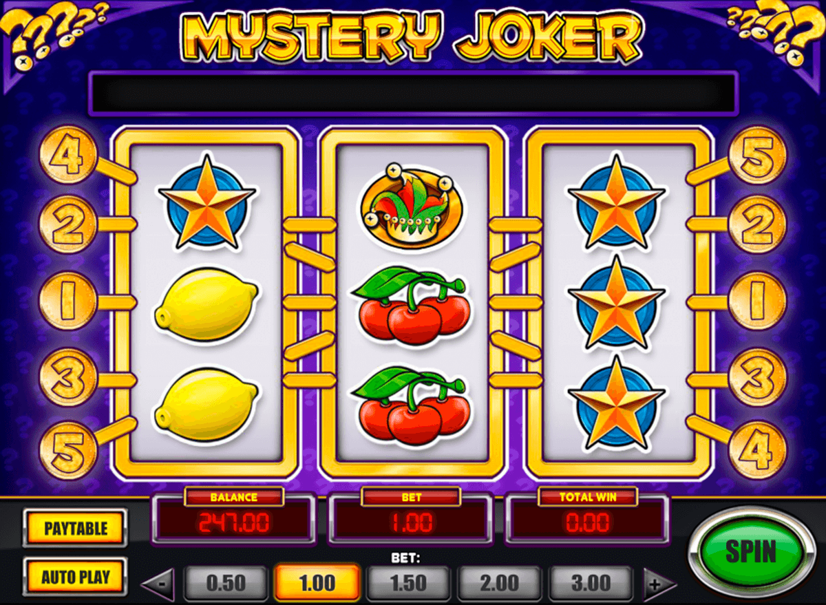 mystery joker playn go casinospil online