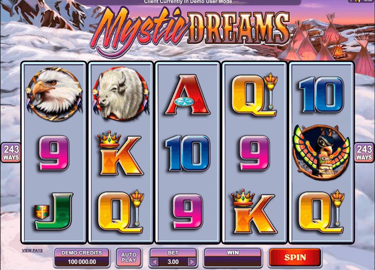 mystic dreams microgaming casinospil online