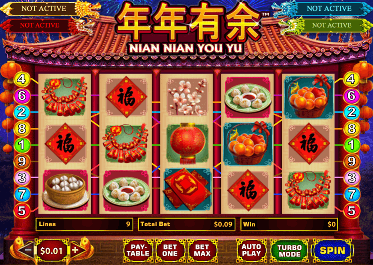 nian nian you yu playtech casinospil online