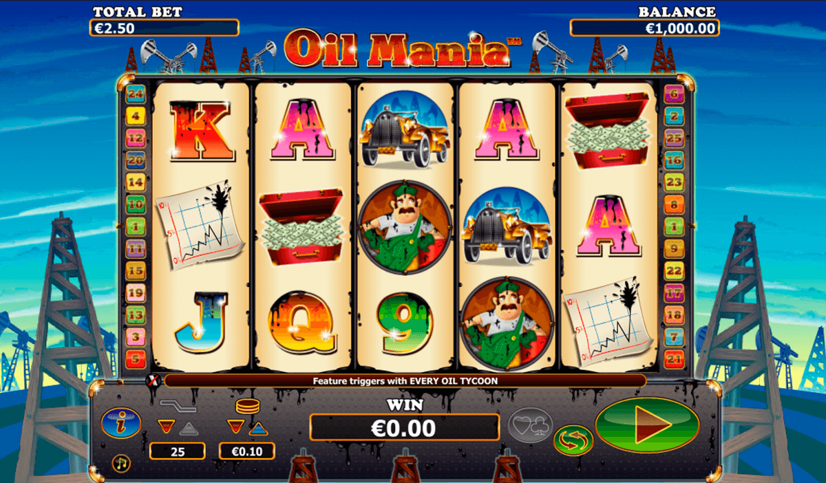 oil mania nextgen gaming casinospil online